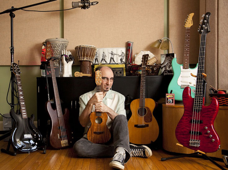 Paul Guzzone with Instruments