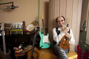 Paul Guzzone with Uke