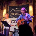 "Mary Ellen Bernard and Paul at The Bitter End - ""Occupy Hearts & Minds"" benefit."